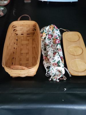 Longaberger 1995 handwoven basket for Sale in Farmington Hills, MI