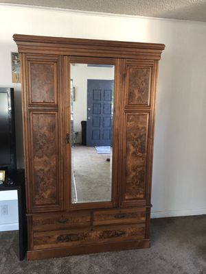 Antique armoire dresser for Sale in San Diego, CA