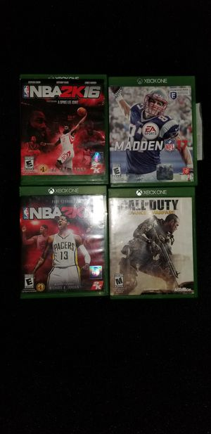 Xbox one games for Sale in PA, US