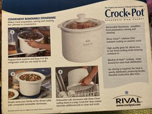 Rival mini crock pot for Sale in Mentor, OH