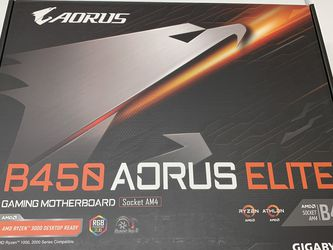 B450 AORUS ELITE GAMING MOTHERBOARD for Sale in Chino,  CA