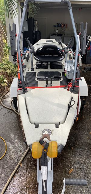 2015 12' Hobie Pro Angler with trailer for Sale in Clearwater, FL