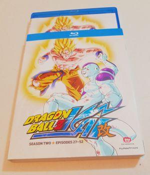 Dragon Ball Z Kai Season 2 Blu Ray for Sale in Queens, NY