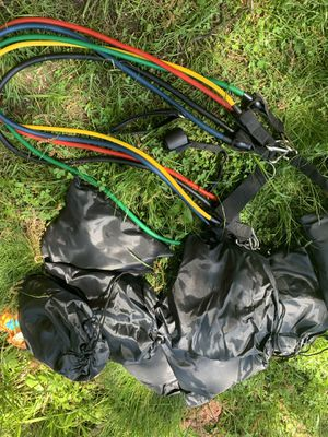 Resistance bands for Sale in Malden, MA