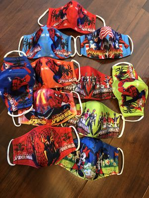 10 pcs spider man cloths for kids under 5 yrs colection for Sale in Wichita, KS