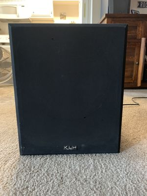 KLH home audio subwoofer for Sale in Modesto, CA