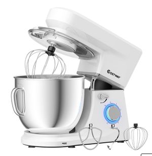 New Tilt-Head Stand Mixer 7.5 Qt 6 Speed 660W with Dough Hook, Whisk & Beater for Sale in Hacienda Heights, CA