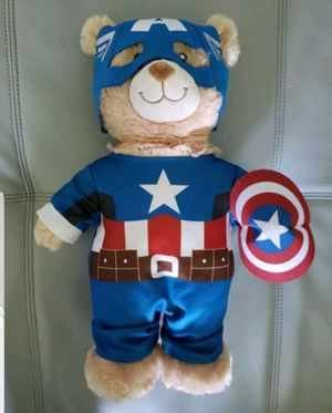 Build a Bear Captain America Bear for Sale in Tampa, FL