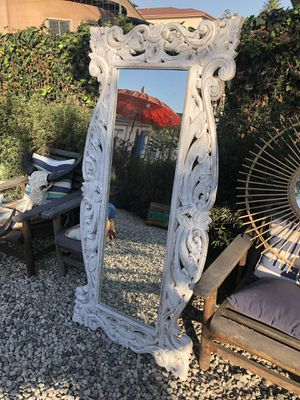 Hand carved wood frame mirrors from Bali for Sale in Los Angeles, CA