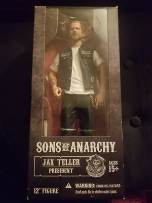 """BRAND NEW Jax Teller President 12"""" Action Figure Sons Of Anarchy for Sale in Murfreesboro, TN"""