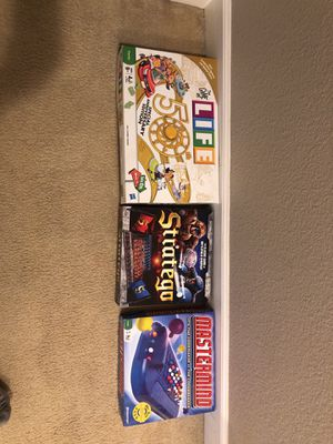 Board games for kids for Sale in Hayward, CA
