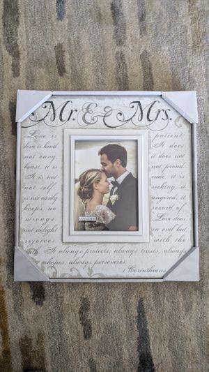 Mr. & Mrs. Picture Frame for Sale in Denver, CO