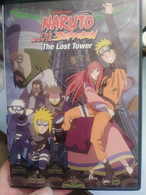 Naruto Shippuden The Lost Tower Movie for Sale in Spanaway, WA