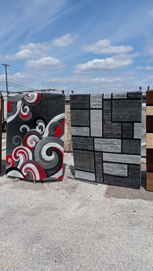 Contemporary modern 3D hand carved rugs for Sale in Robstown, TX