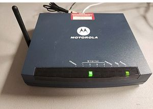 Motorola Netopia 3347-02 ADSL2/2+ Four-Port 10/100 Wireless G Wireless Router for Sale in South Miami, FL