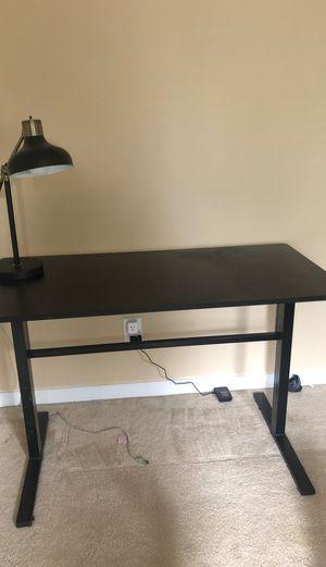 Standing Desk and Threshold lamp for Sale in Glen Allen, VA