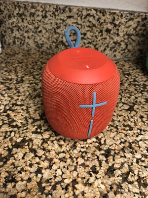 Wonderboom ultimate ears Bluetooth speaker for Sale in Tustin, CA