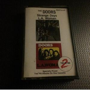 The Doors - Strange Days & LA Woman ( 2 on 1 Cassette Tape) for Sale in Seattle, WA