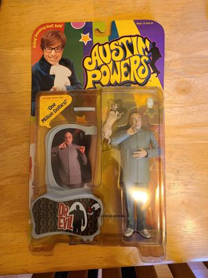Austin Powers McFarlane Toys - Dr. Evil, Felicity Shagwell, and Mini Me for Sale in Fairview, OR