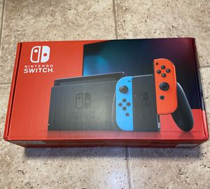 Nintendo Switch Video Game Console Blue Red for Sale in Alexandria, VA