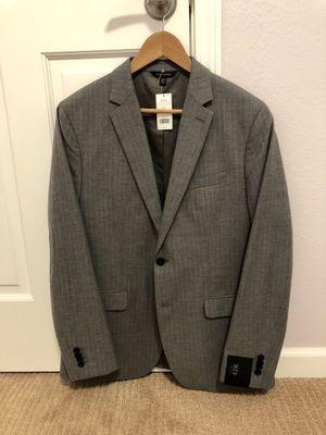 Banana Republic Slim Gray Pinstripe Italian Cotton Suit Jacket for Sale in Bellevue, WA