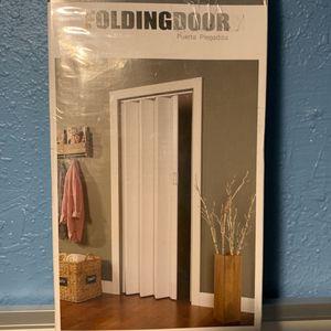 Folding Door/ Collapsed Door/ Sliding Door/ Door/ Spectrum Encore White for Sale in Anaheim, CA