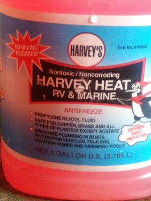 Harvey's non-toxic non corroding Harvey's heat and RV Marine antifreeze for Sale in Greensboro, NC