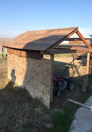 Semi built Shed or better offer. for Sale in Laton, CA