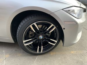 """Bmw 325i 18"""" new m style rims tires set for Sale in Hayward, CA"""