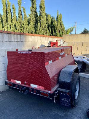 NEW 300 Gallon Fuel Tank with Trailer and Pump/Nozzle for Sale in Torrance, CA