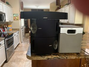 Bose speakers and Sony woofer for Sale in Surprise, AZ