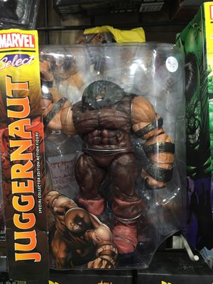 Juggernaut Marvel select Spiderman Iron Man captain America X-Men for Sale in La Habra, CA