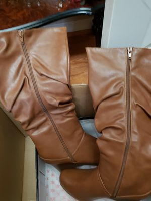 Women Brown miss calf boots size 9.5 for Sale in Stafford, VA