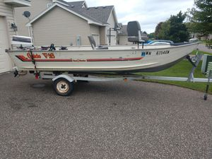 16ft fishing boat for Sale in Nowthen, MN