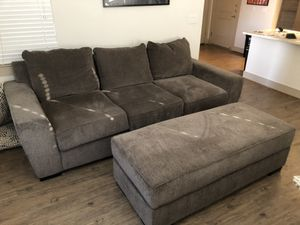Living Spaces Parker II sofa, loveseat and ottoman for Sale in Scottsdale, AZ