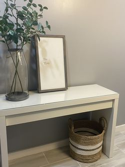 IKEA Malm Desk / Console Table With Drawer for Sale in Seattle,  WA