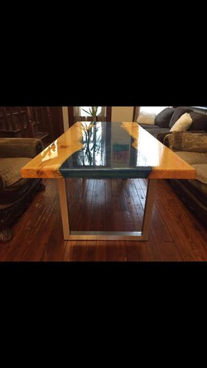 Resin River Table for Sale in St. Louis, MO