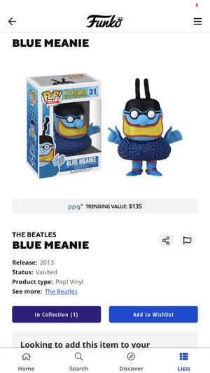 Blue meanie pop toy for Sale in Los Angeles, CA