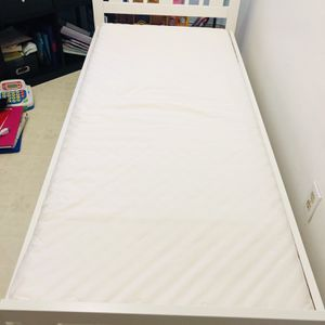 Toddler Bed Frame With Mattress Included for Sale in Long Beach, CA