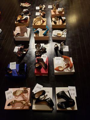 High end womens designer shoes stilettos pumps heels sandals for Sale in Houston, TX