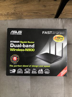 Asus cable router - high speed for Sale in San Francisco, CA