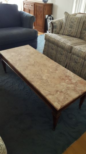 Marble coffee table for Sale in Des Plaines, IL