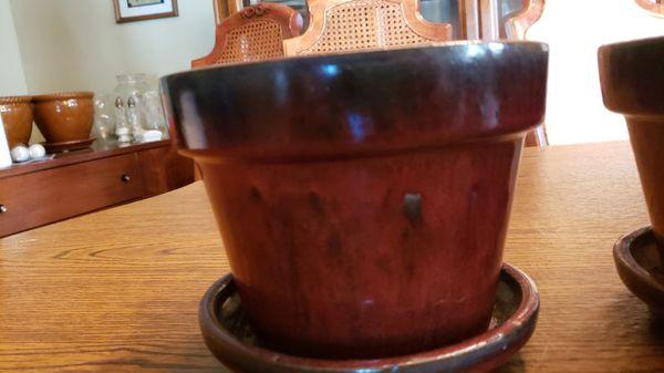 6-inch planter pots