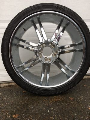 Fierce instinct zr 265/35-22 tires OBO for Sale in Seattle, WA