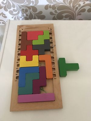 Wooden smart games for kids for Sale in Stone Ridge, VA