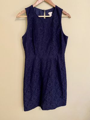 J. Crew Navy Lace Dress - Size 4 Petit for Sale in Tampa, FL