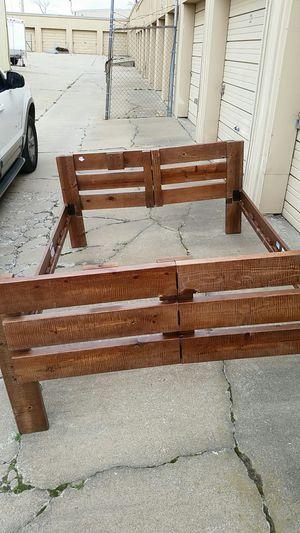 full size folding bed frame for Sale in Tulsa, OK