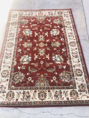 """Oriental Weavers 4929R KASHAN 5' 3"""" X 7' 6"""" area Rug in Red/ Ivory for Sale in Buena Park, CA"""