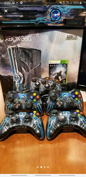 Xbox 360 320GB Slim Halo 4 Limited Edition Console for Sale in Frederick, MD