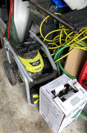 Ryobi 330psi pressure washer and a new drum of r22 substitute refrigerate for Sale in Atlanta, GA